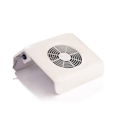 Nail Dust Collector White Small
